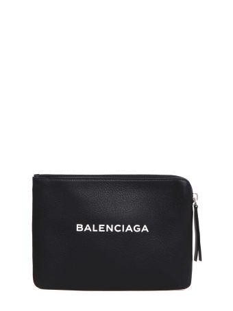Balenciaga Pouch Con Logo