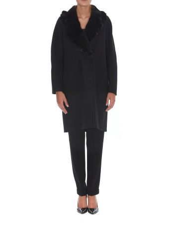 Ermanno Scervino Fur Detail Coat