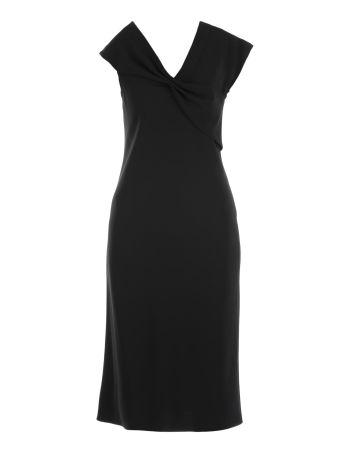 Diane Von Furstenberg Plain Color Dress
