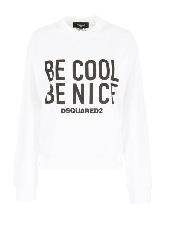 Be Cool Be Nice Sweatshirt