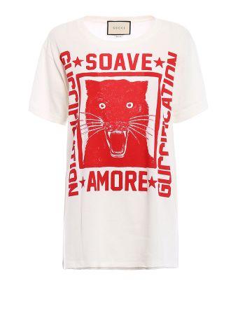 Gucci Cotton Jersey T-shirt