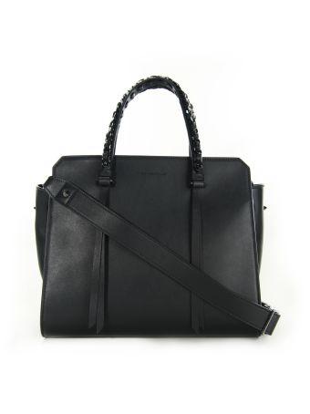 Elena Ghisellini Black Sensua Tote Bag