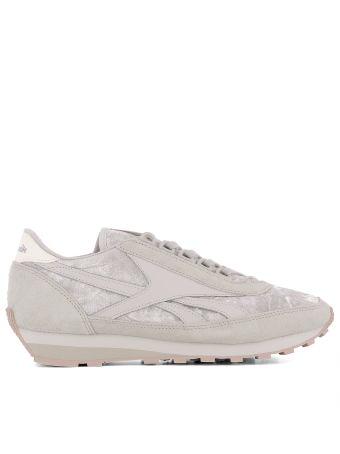 Powder Pink Velvet Sneakers