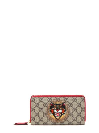 Gucci Zip Around Angry Cat