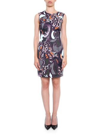 Baroccoflage Print Dress