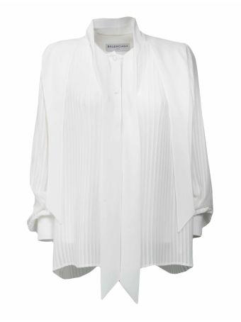 Balenciaga Pleated Shirt