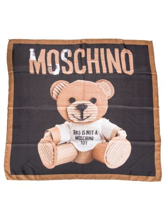 Moschino Teddy Bear Scarf