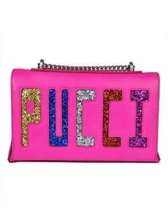 Emilio Pucci  Glitter Shoulder Bag