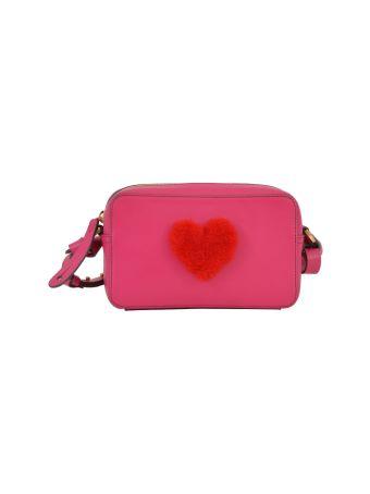 Anya Hindmarch Camera Bag With Shearling Heart