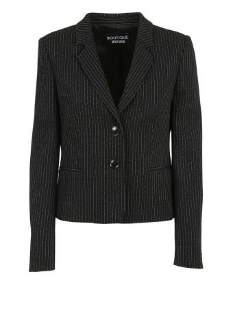 Boutique Moschino Pinstriped Blazer