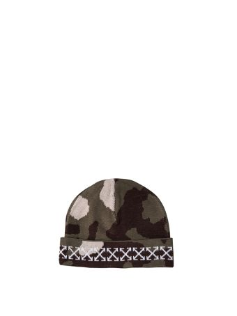 Off-White Camouflage Arrows Wool Cap
