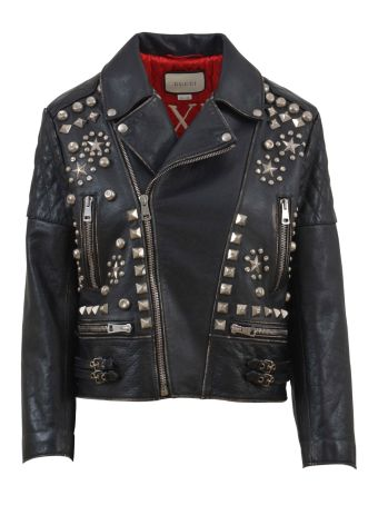 Gucci Studded Biker Jacket