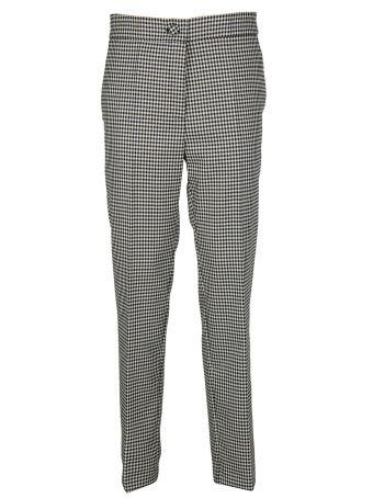 Erika Cavallini Vichy High Waisted Trousers