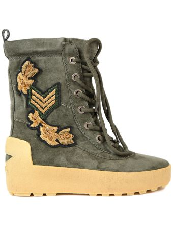 Ash Military Boots