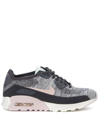 Nike Air Max 90 Ultra 2.0 Flyknit Black And Pink Sneaker