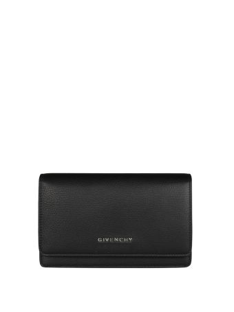 Givenchy Pandora Chain Wallet Leather Bag
