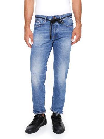 Window Medium Diag Jeans
