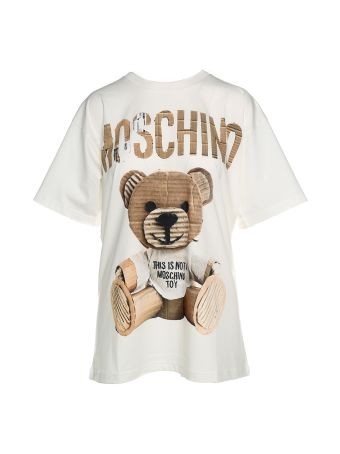 Moschino Moschino Teddy Bear Cotton-jersey Tee