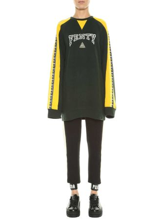 Fenty Puma By Rihanna Crew Neck Pullover With Taping