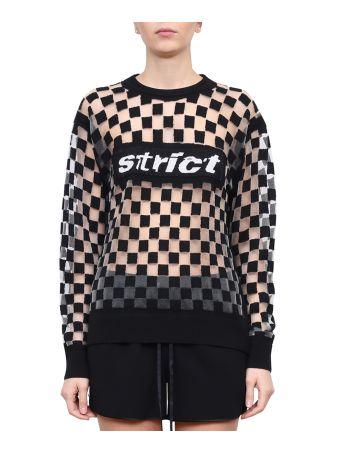 Alexander Wang Devoré Strict Sweater