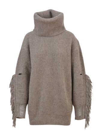Stella McCartney Oversized Fringe Sweater