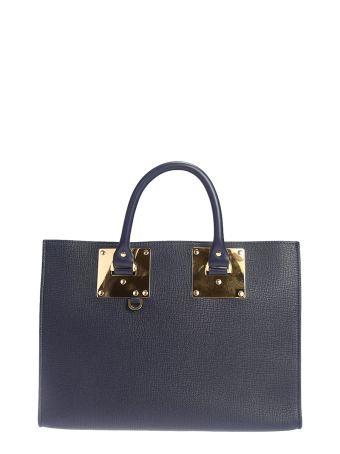 Big Albion Box Tote Leather Bag