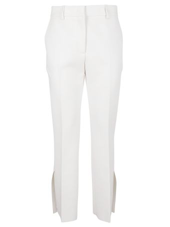 MSGM Double-crepe Flared Trousers