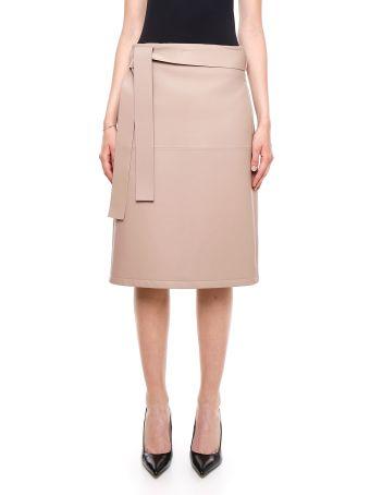 Lambskin Skirt