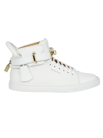 Buscemi Buckled Hi-top Sneakers