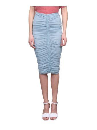 Max Mara Caliga Jersey Skirt