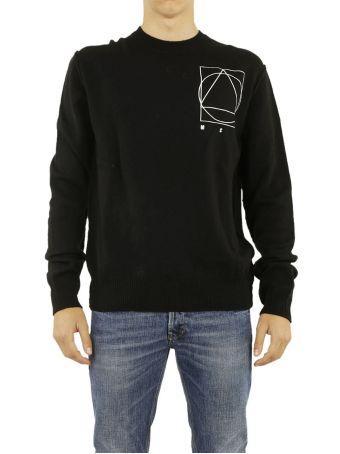 Mcq Alexander Mcqueen Glyph Embroidered Icon Sweater