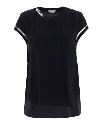 Fendi Crepe De Chine Top