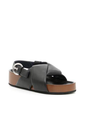 Twist Slingback Sandals