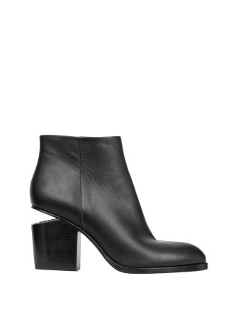 Alexander Wang Cut-out Heel Ankle Boots