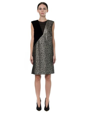 Lanvin Golden Leopard Dress
