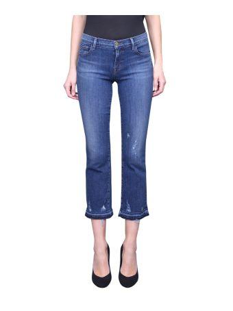 J Brand Selena Cotton Denim Jeans