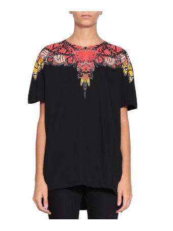 Marcelo Burlon Okam Poncho Cotton T-shirt