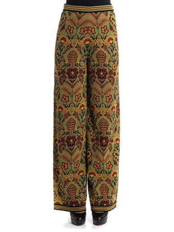 M Missoni Flower Trousers