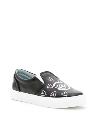 Hearts Candy Flirting Slip-ons