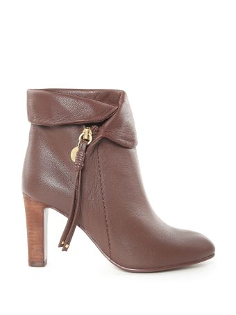 See by Chloé Masha Leather Booties