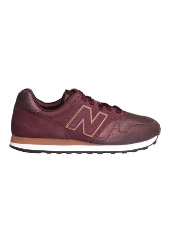 New Balance Sneaker 373 In Camoscio Bordeaux