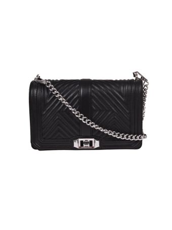 Rebecca Minkoff Love Geo Quilted Shoulder Bag