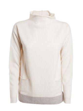 Fabiana Filippi Stand Up Collar Sweater