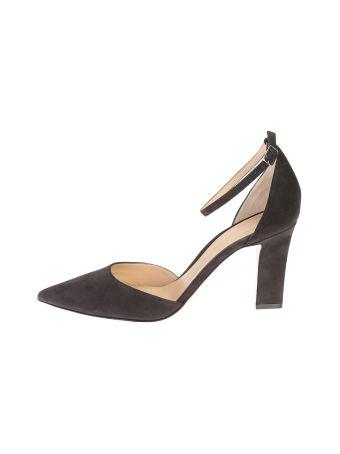 Charcoal Suede Mila Pump Shoes