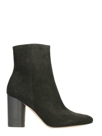 Sam Edelman Corra Black Suede Boots