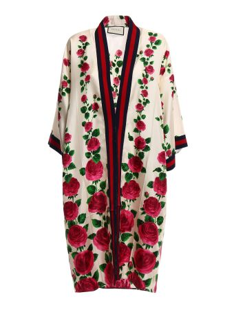 Gucci Le Jardin De Rose Coat