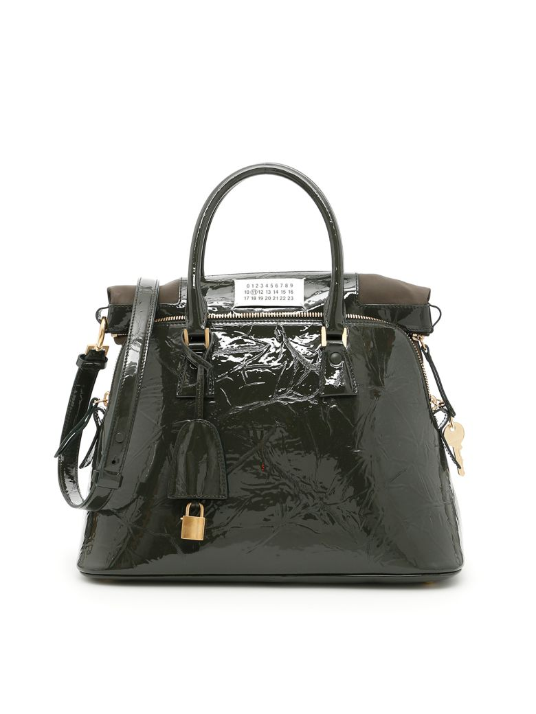 MAISON MARTIN MARGIELA 5Ac Handbag in Military|Verde