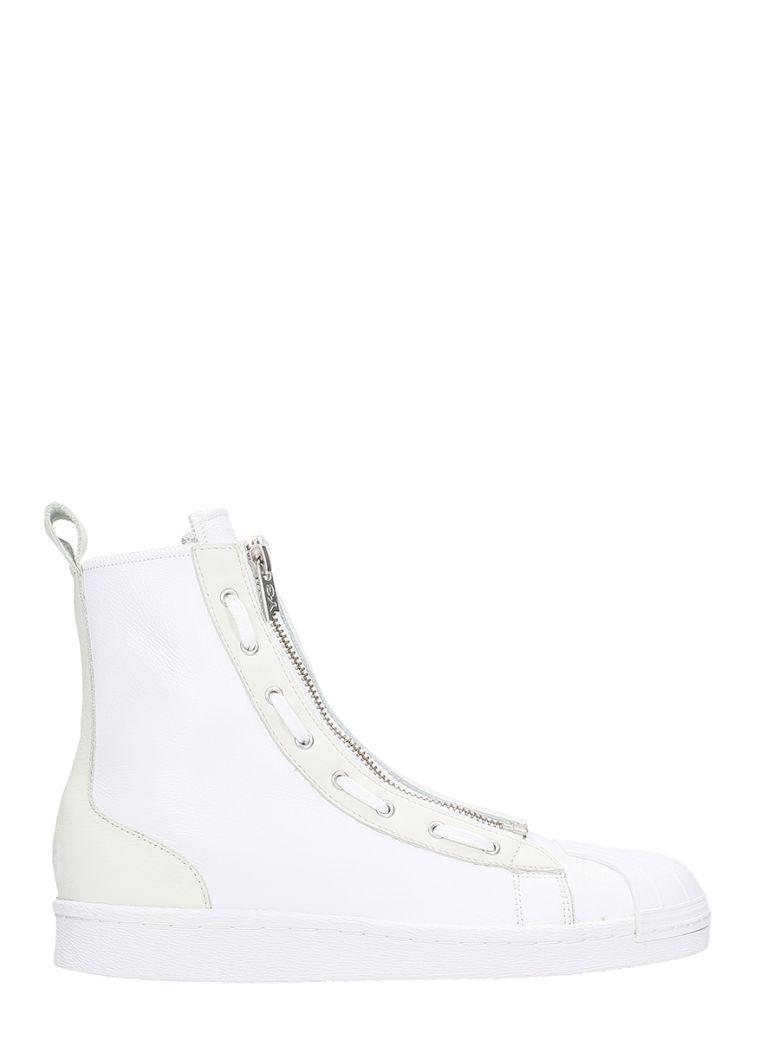 Y-3 Y-3 Y-3 Pro Zip White Hi Sneakers