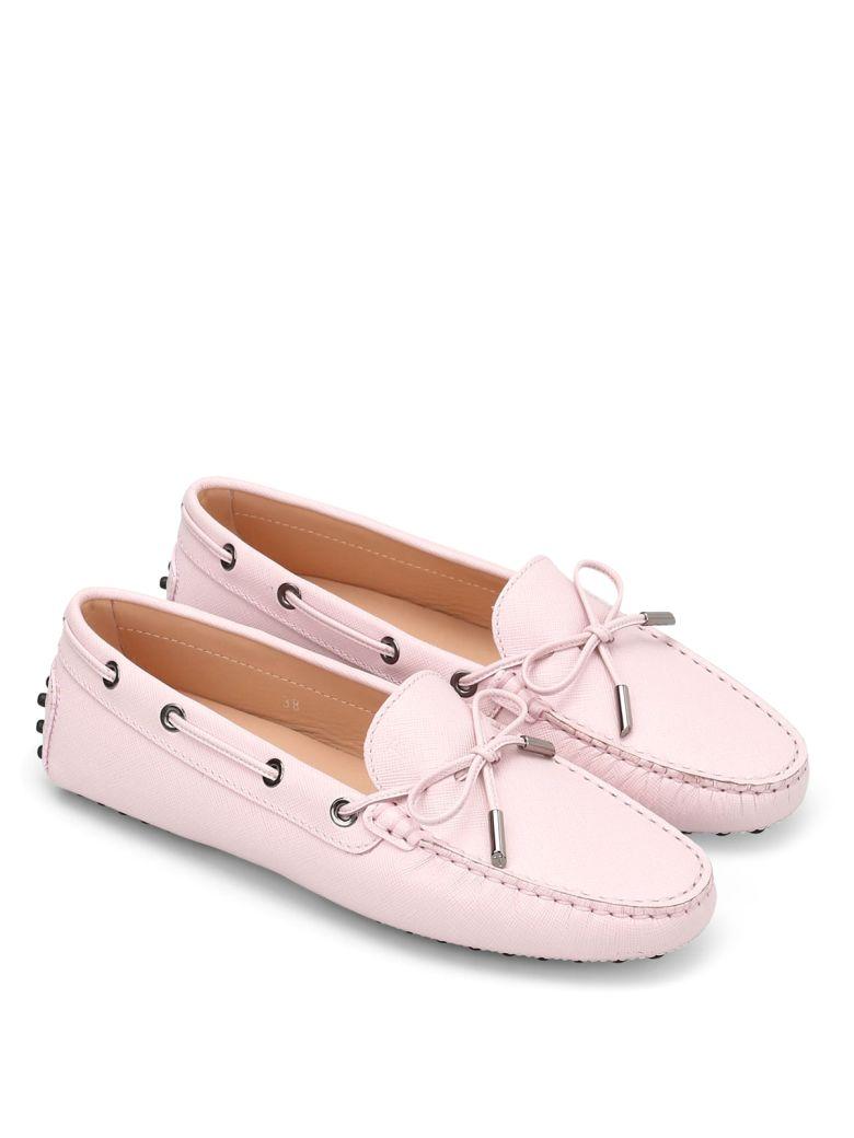TOD'S Heaven Laccetto Saffiano Loafers