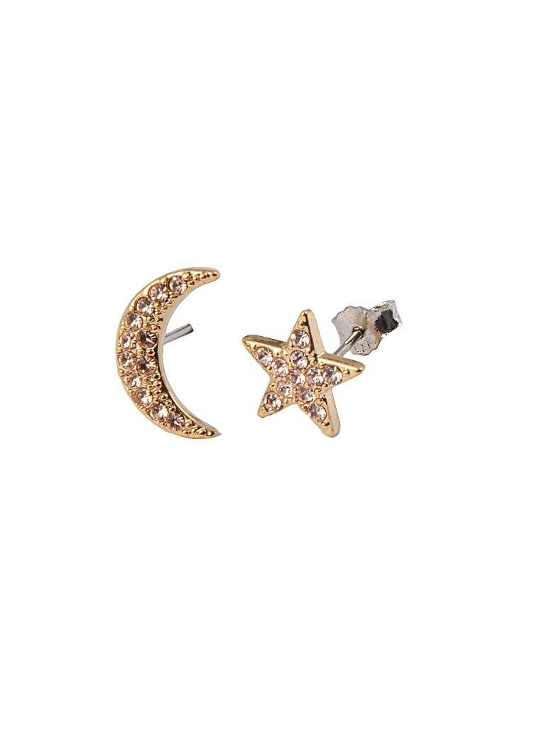 Federica Tosi Federica Tosi Lobo Moon And Star Earings